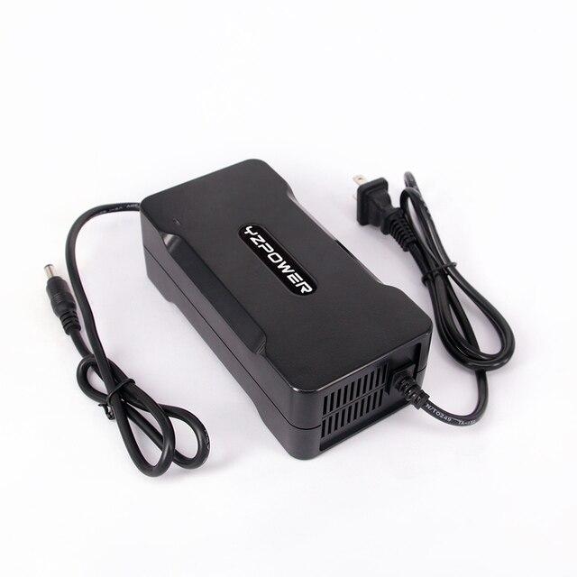 YZPOWER Intelligent 58.8 V 4A chargeur de batterie au Lithium pour outil électrique Robot voiture électrique li-on batterie 48 V