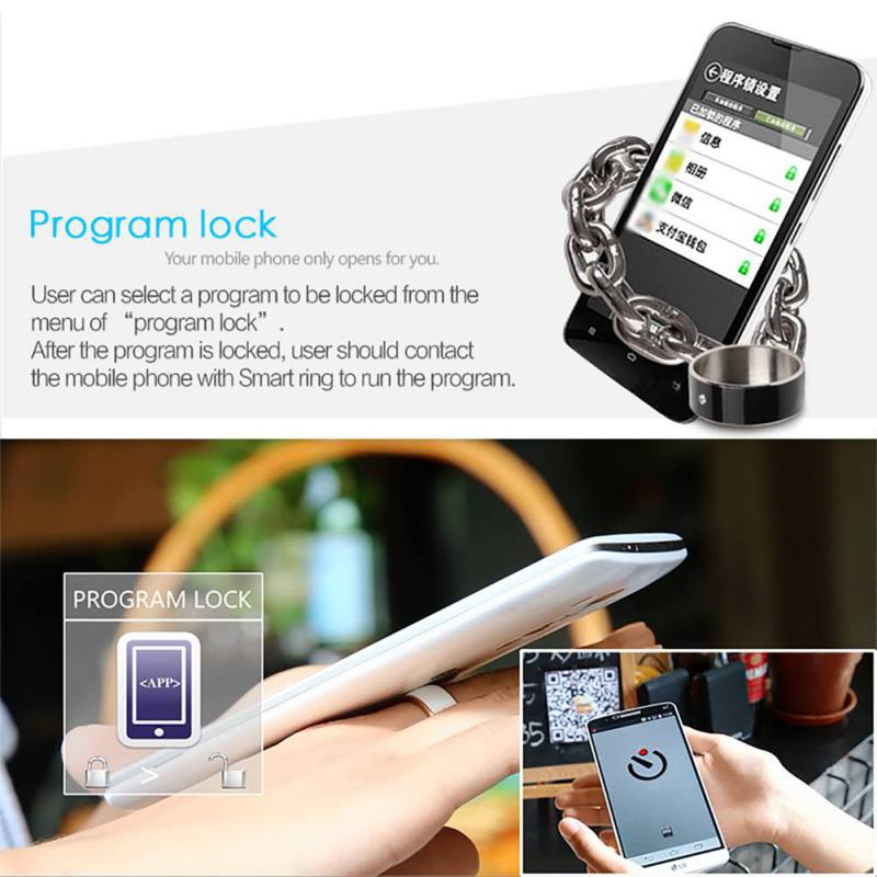 R3 R3F MJ02 New Technology Magic NFC Smart Rings 20