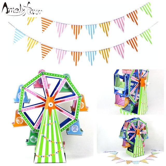 Riesenrad Cupcake Stander DIY 8 Cup Papier Stand Cake Halter Dekorieren Display Birthday Party