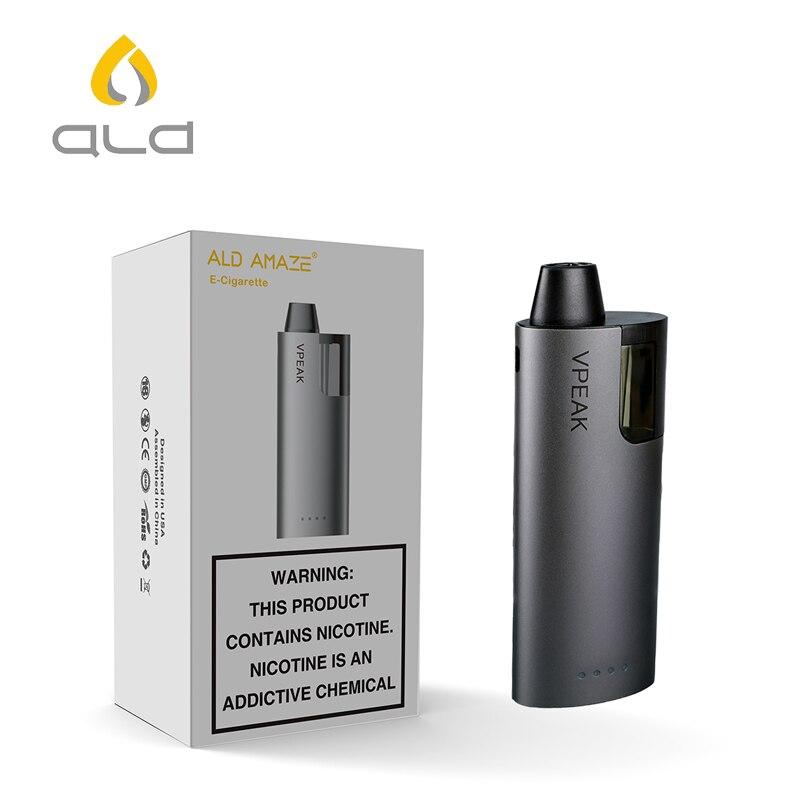 ALD vaporisateur pod cigarette électronique vaporisateur e-cigarettes pod mod système rechargeable MTL vaporisateur pen e shisha ecigarette vaper mini