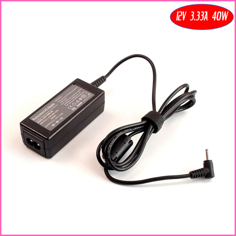 12V 3.33A 40W Laptop Ac Adapter Charger for Samsung Chromebook XE303C12 XE303C12-A01 XE303C12-A01UK