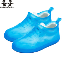 wenjie brother quality rain cover Slip-on injection children rain boots men rubber shoes covers waterproof lady rain boots cover