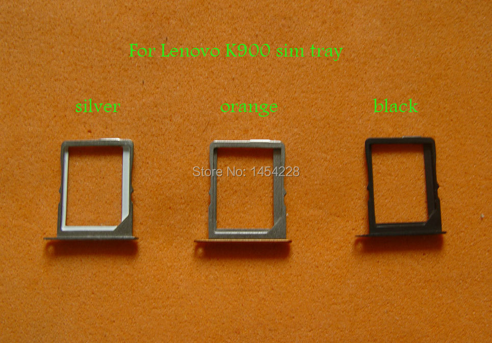 Ordinary Carte Micro Sim Orange #9: BINYEAE Noir/Argent/Orange En Stock New Original Carte SIM Plateau Support  De Logement