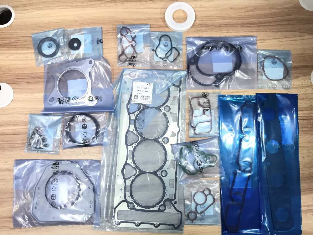 New Genuine OEM Engine Cylinder Head Gasket Repair Kit For VW Audi A3 A4 A5 A6 Passat 1.8T 2.0T EA888 цена