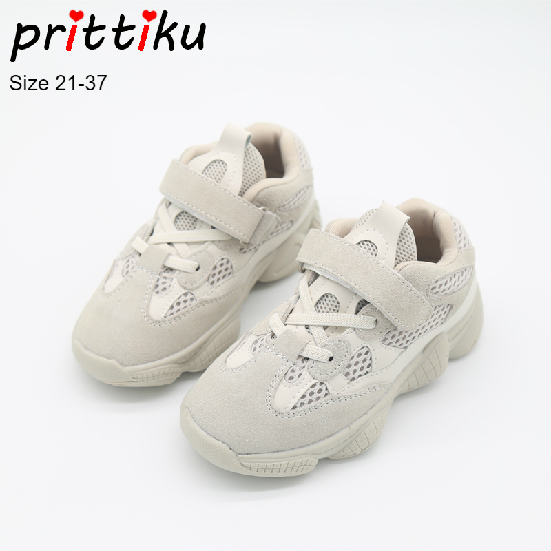 Autumn 2018 Boys Girls Mesh Genuine Leather Sneakers Children Game Sport Trainers School Brand Shoes Baby/Toddler/Little/Big Kid soccer shoe toddler little kid big kid synthetic leather upper rubber soles 31 44casual outdoor indoor light weight running