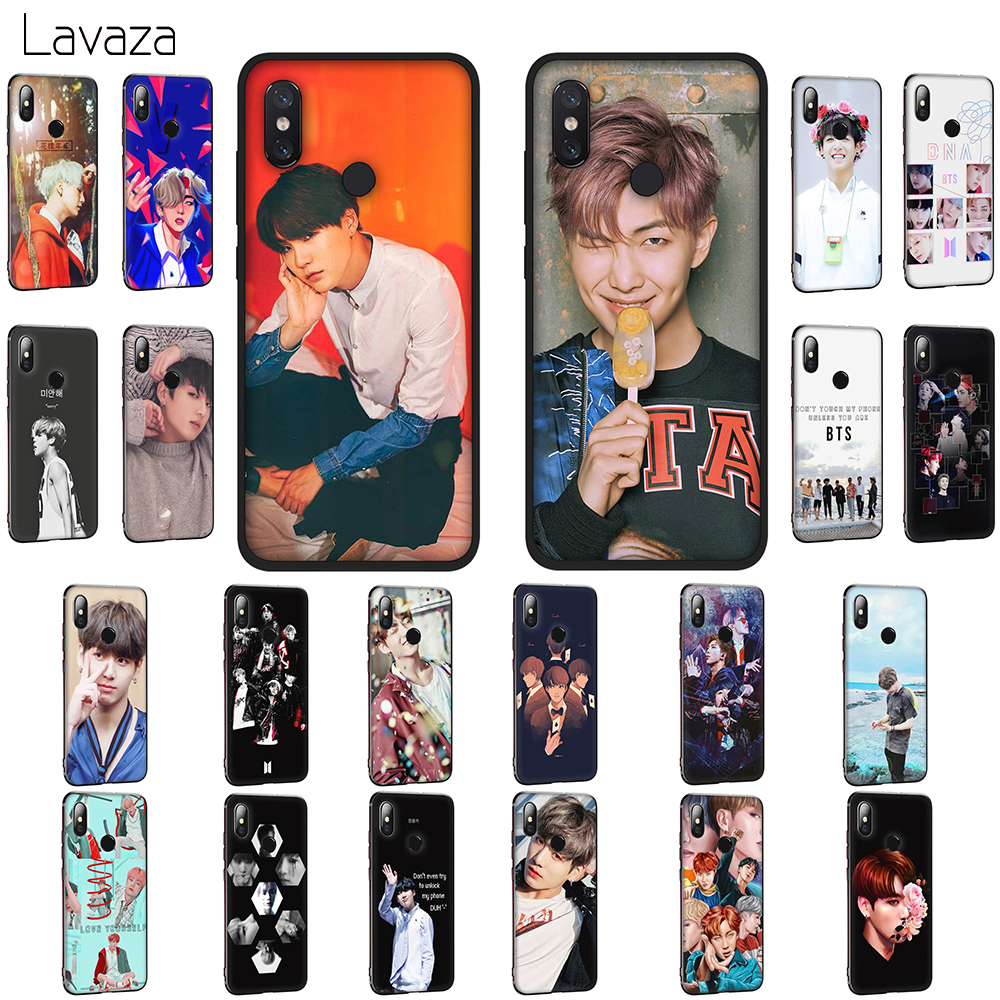 Lavaza BTS band Bangtan Boys Soft TPU Case for Xiaomi Mi 6 9 SE A1 8 A2 Lite Mix 2s Max 3 for POCOPHONE F1 Cover