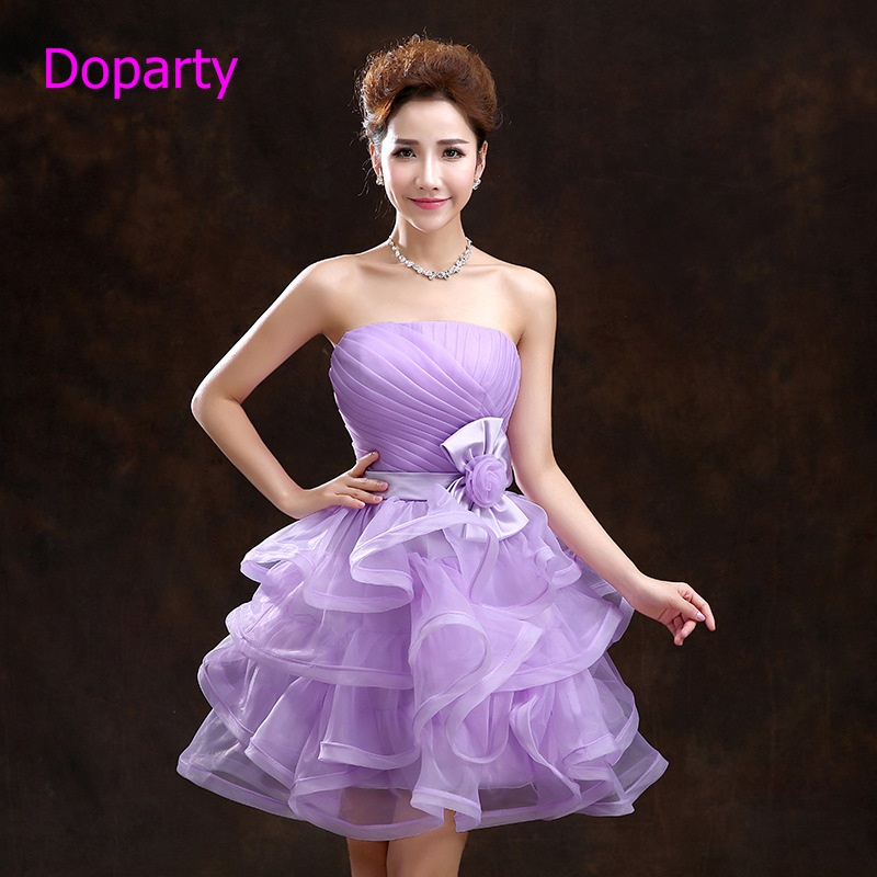 Buy doparty cheap plus size purple for Cheap wedding guest dresses