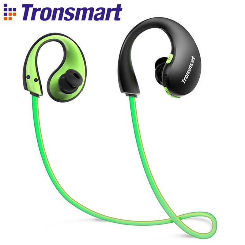 Tronsmart Encore Gleam Bluetooth 4.1 Sports LED Earphones Waterproof IP66 Earpiece With LED Light And Built-in Microphone