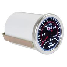 """"""" 52 мм 40-150 градусов Цельсия Автомобильный датчик температуры автоматический индикатор температуры масла со светодиодным дисплеем"""