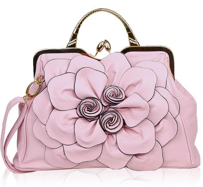 Летающие птицы, модные женские сумки, известные бренды, роскошные женские сумки через плечо, дамская сумка-тоут, Новое поступление, сумка LS4996fb - Цвет: pink women tote