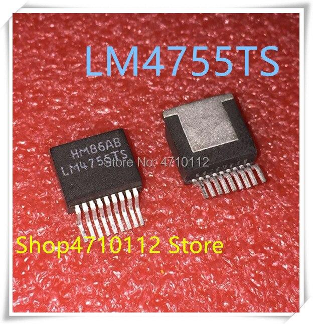 NEW 10PCS/LOT LM4755TS  LM4755 TO-263 IC