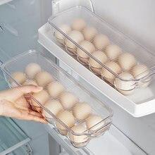 Держатель для яиц холодильника с крышкой и ручкой 12 лотков