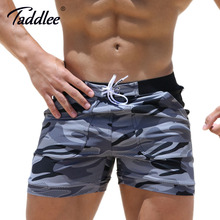Taddlee Brand Sexy Men's Swimwear Swimsuits Men Plus Big Size XXL Camouflage Basic Swimming Surf Beach Long Board Shorts Boxer