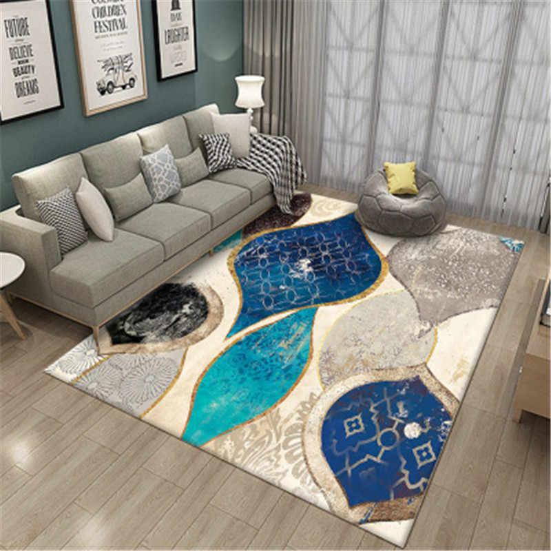 Black White Nordic Carpet Geometric For