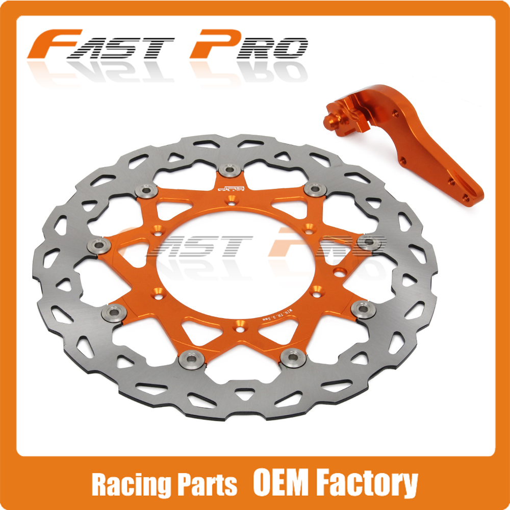 320mm Floating Brake Disc + Bracket For KTM EXC EXCF EXCG EXCR GS LC4 SC MX MXC SX SXF SXS XCF XCW XCG XC Supermoto Motard320mm Floating Brake Disc + Bracket For KTM EXC EXCF EXCG EXCR GS LC4 SC MX MXC SX SXF SXS XCF XCW XCG XC Supermoto Motard