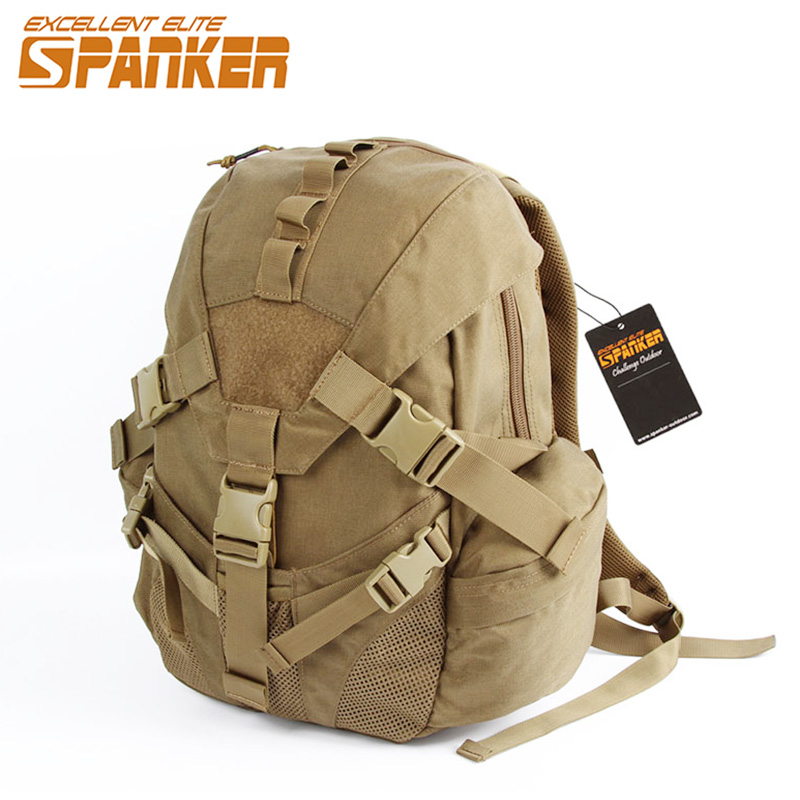 EXCELLENT ELITE SPANKER Outdoor Hunting Bag Nylon Triangle Cover Backpack Men's Sports Bag Tactical Backpack Waterproof excellent elite spanker outdoor military waterproof travel backpack army tactical hiking nylon bag molle hunting sport backpack