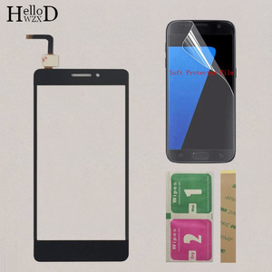 Image 1 - Touchscreen Touch Digitizer Panel Sensor For Lenovo Vibe P1M a40 P1ma40 P1mc50 Touch Screen Front Glass TouchPad Protector Film