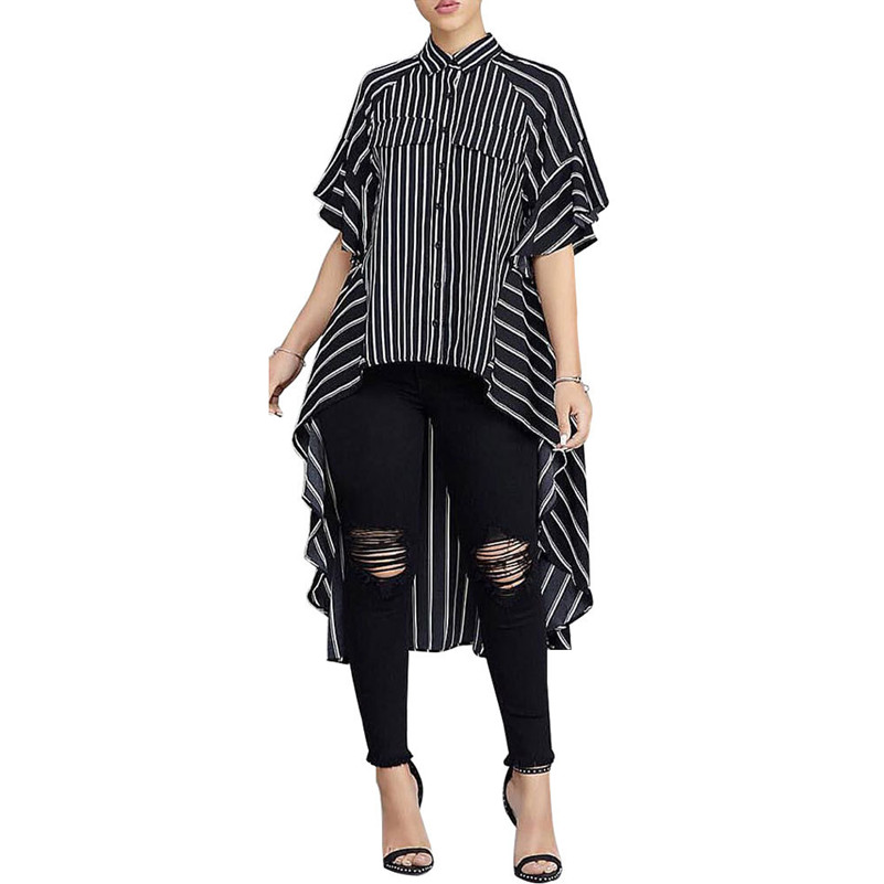 Women's Clothing V Neck Womens Shirts Blusas Mujer De Moda 2019 Female Blouse Shirt Short Sleeve Plaid Casual Blusa Feminina Lady Clothing To Have A Unique National Style