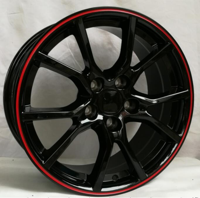 Rims On Car App >> New Red Line 20 inch 20x8.5 5x114.3 Car Alloy Wheel Rims fit for Honda Civic CR V Accord-in ...