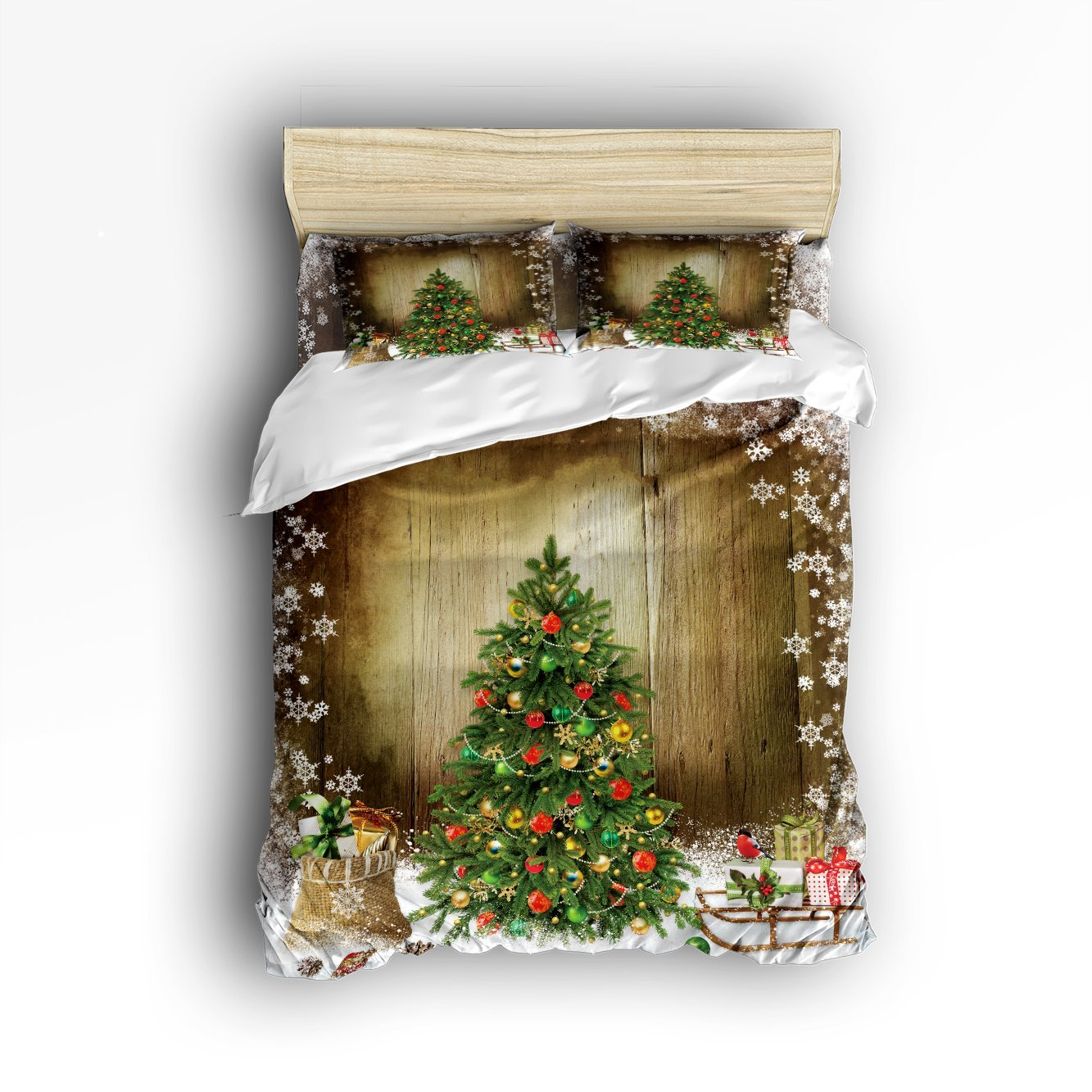 Christmas Tree Facebook Cover Photo: CHARMHOME Christmas Tree With Holiday Presents 3d