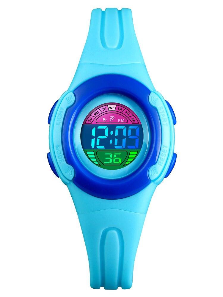 Children Watch Student Clock Back-Light Running-Wristwatch SKMEI Digital Waterproof Luminous