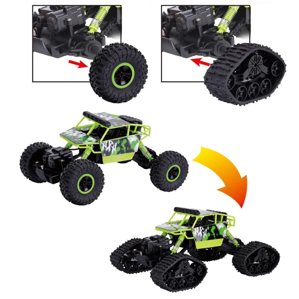 Image 2 - 4WD 2.4Ghz Remote Control Car Snowfield Rock Crawler Car-in RC Cars from Toys & Hobbies