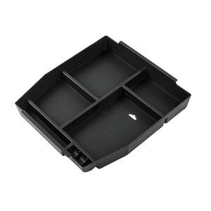 Image 5 - Автомобильный ящик в салон для хранения в подлокотнике MOPAI, Декоративный ящик для перчаток из ABS для Ford F150, 2015