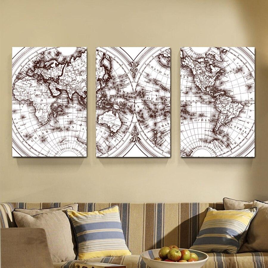 Hoge kwaliteit groothandel kaart canvas van chinese kaart canvas ...
