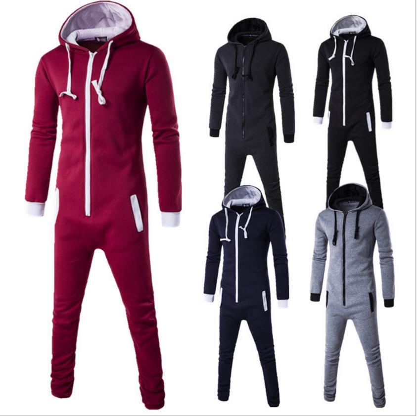 b93495928d85 2017 Winter Men s Plus Size Home Pajamas One Piece Adult Onesie Mens Women  Superman Jumpsuit Sleepwear