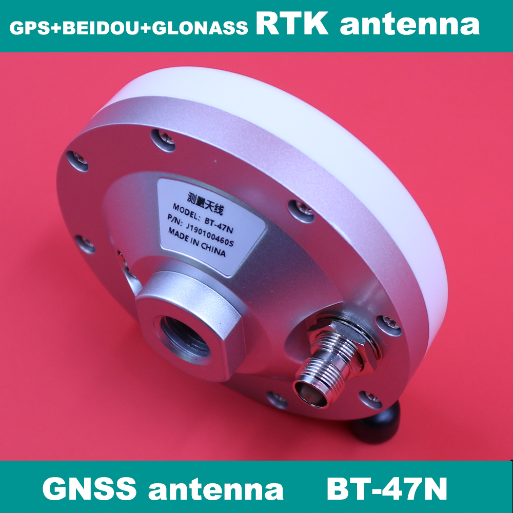 Zangão alto da antena de glonass beidou gnss de gps do ganho da estação dos cors de rtk da antena da pesquisa do zangão da elevada precisão, BT-47N