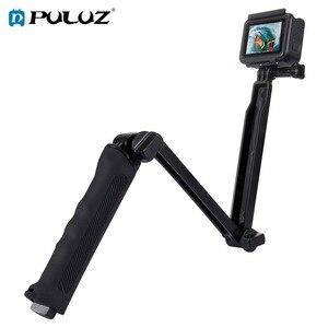 PULUZ водонепроницаемый селфи-палка плавающая рукоятка + 3-полосная рукоятка монопод Штатив для GoPro Hero 7 6 5 4 3 + 3 YI SJCAM камера