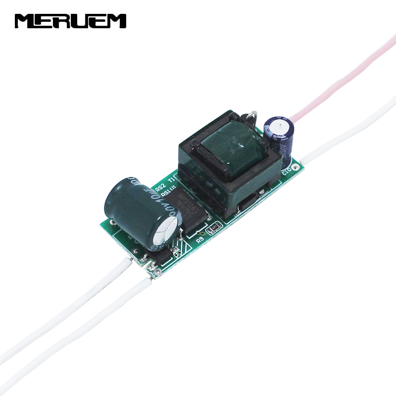 Doprava zdarma 6ks / šarže (8-12) x 1 W LED ovladač pro E27 / GU10 / E14 světelnou lampu Spotlight Transformátory osvětlení 8W -12W