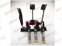 Race Rally Hydraulic Clutch Brake Bias Pedal Box