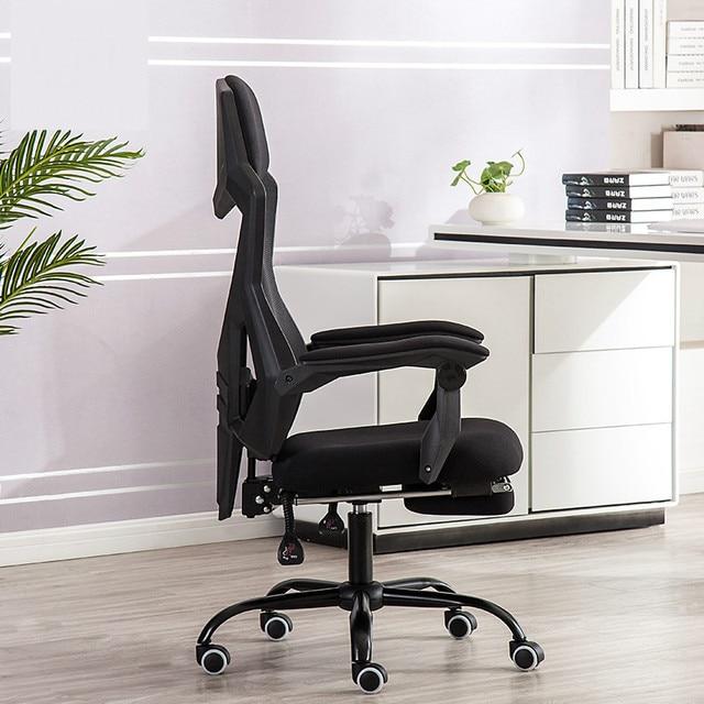 Office Chair Home Ergonomics Mesh Computer Chair Reclining Swivel Gaming Chair 4