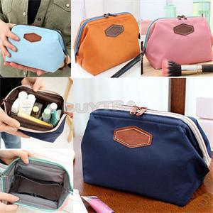1PCS New Portable Cute Multifunction Travel Cosmetic Bag Novetly Makeup Case Pouch Toiletry 4 Colors