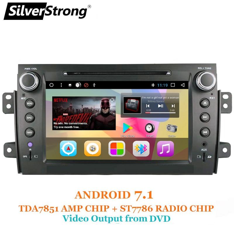 SilverStrong 8inch 2Din Android7.1 Radio Car DVD For SUZUKI SX4 MP4 MP3 Radio Navitel GPS Navi silverstrong 8inch 2din android7 1 radio car dvd for suzuki sx4 mp4 mp3 radio navitel gps navi