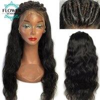 5x4,5 дюймов шелк база полный кружево человеческие волосы Искусственные парики средства ухода за кожей волна с ребенком волос для женщи