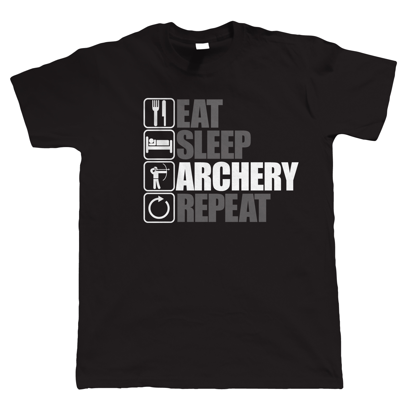 Eat Sleep Archery Repeat, Mens Funny Archery T Shirt, Gift Dad New Arrival MenS Short