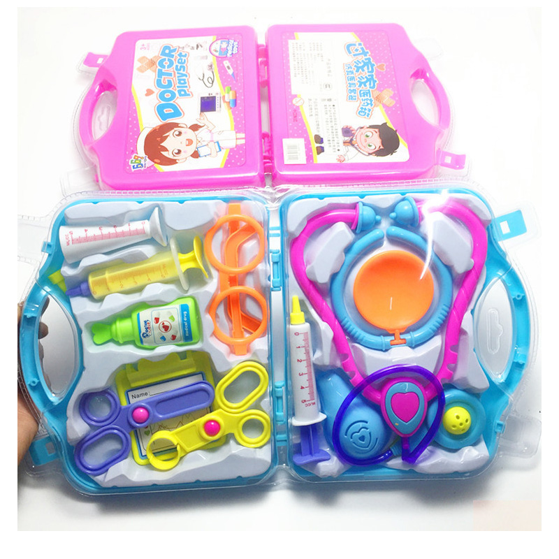 Toys Set For Children Doctor Set Toys Kids Pretend Play Medicine Box Role Play Educational Baby Toy Doctor Kit