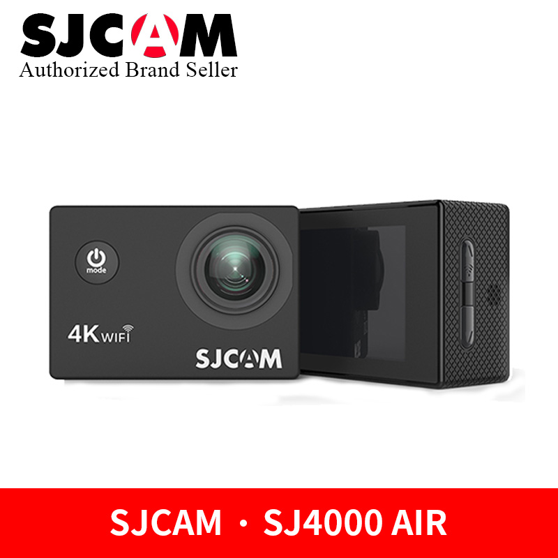 SJCAM SJ4000 AIR 4K WiFi Action Camera 1080P Full HD 30fps Sport DV 2.0 Screen 30m Waterproof Extreme Sports DV Original 4k 30fps action camera wifi 1080p uhd 2 0 lcd screen 30m waterproof diving 170 degree sport action camera dv camera