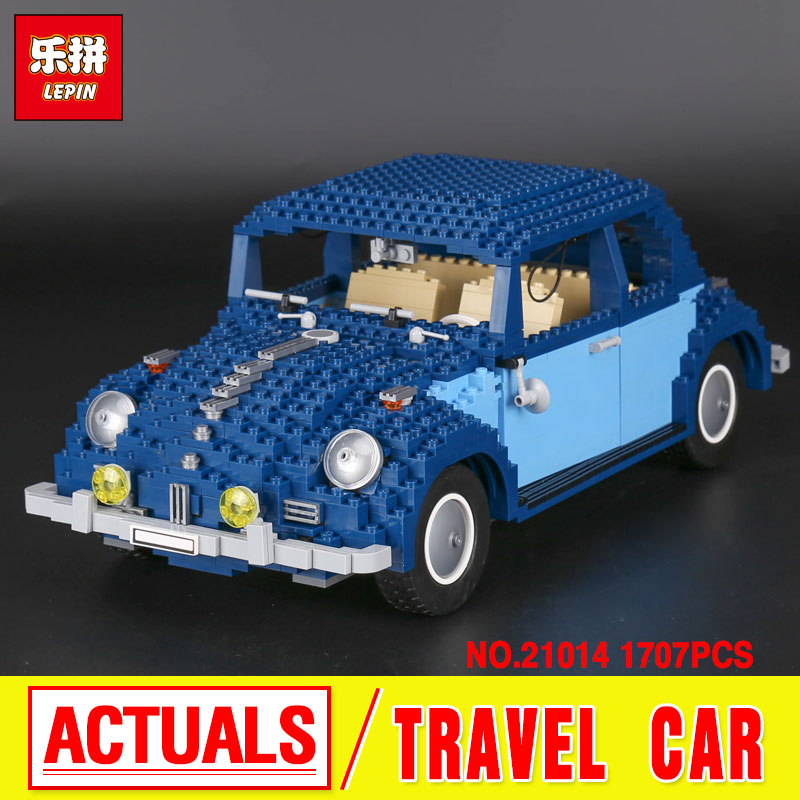 Lepin 21014 1707Pcs Technic Classic Series The Ultimate Beetle Set children Educational Building Blocks Bricks Toys Model 10187 lepin 20030 technic ultimate series the 1132pcs off roader set children educational building blocks bricks toys model gifts 8297