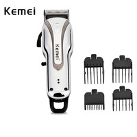 Kemei KM 1992 Rechargeable Electric Adjustable Blade Professional Hair Trimmer Low Noise Hair Clipper