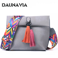 Women Messenger Bag Tassel Crossbody Bags For Girls Shoulder Bags Female Designer Handbags Bolsa Feminina Bolsos