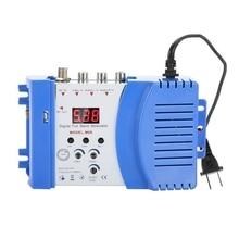 Professional Digital Vhf Uhf Rf Modulator Av To Rf Avto Tv Converter Adapter цена