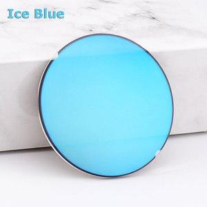 Image 4 - 1.499 CR 39 표준 색인 수지 거울 다채로운 코팅 편광 된 근시 선글라스 처방 광학 렌즈