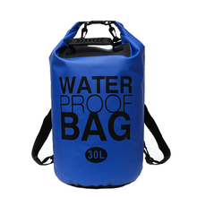 30L Outdoor Portable Waterproof Backpack Drifting Diving Compression Storage Bag Large Capacity Travel Storag