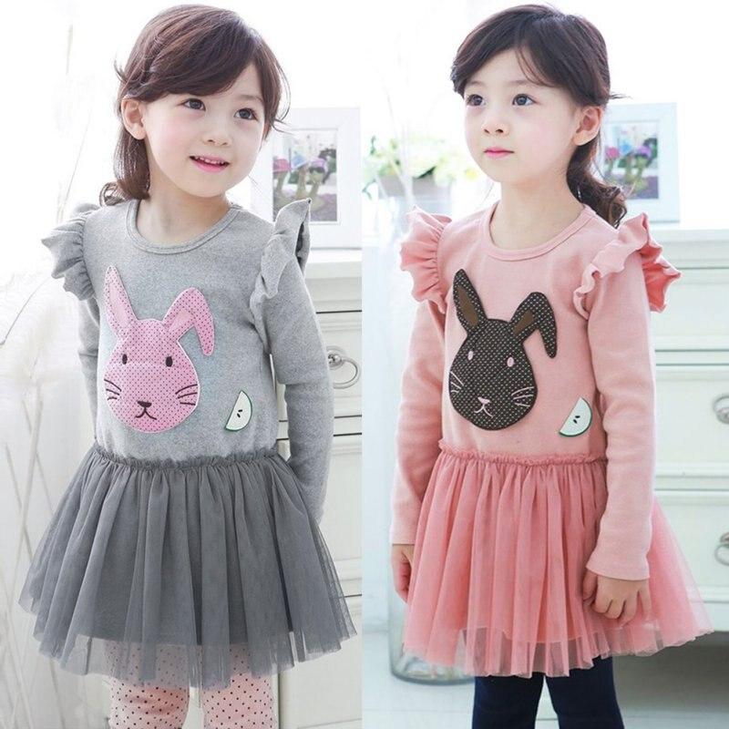 Kleid langarm tull