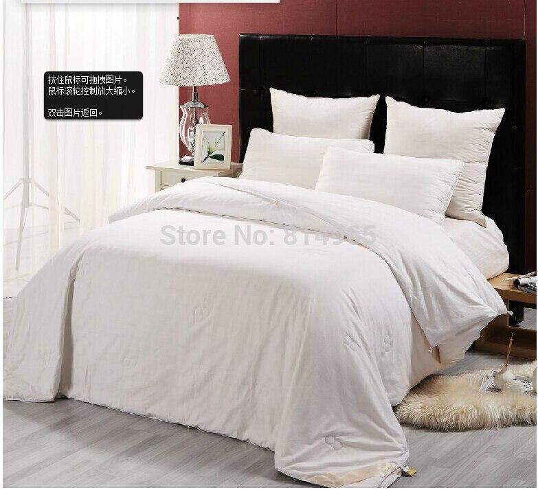 High Quality Mulberry silk Filled Winter 2600g Duvet Quilt Comforter King 240X210cm