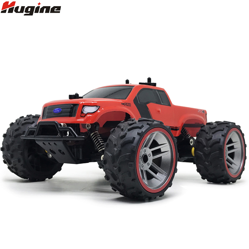 RC Car 4CH Bigfoot Car High Speed Racing Car Remote Control Car Model Off-Road Electronic Vehicle Monster Truck Children Toys 2017 navigator rc racing car 2163 4ch 1 8 60cm large size off road remote control car truck vehile model toy with led light