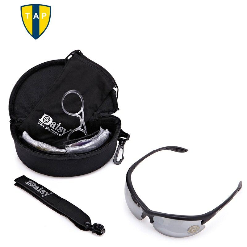 Prix pour 2016 C3 Vélo lunettes de Soleil Hommes CS Tactique Moto Vélo Sports de Plein Air Lunettes Lunettes 4 lentilles vélo lunettes Lunettes Oculos